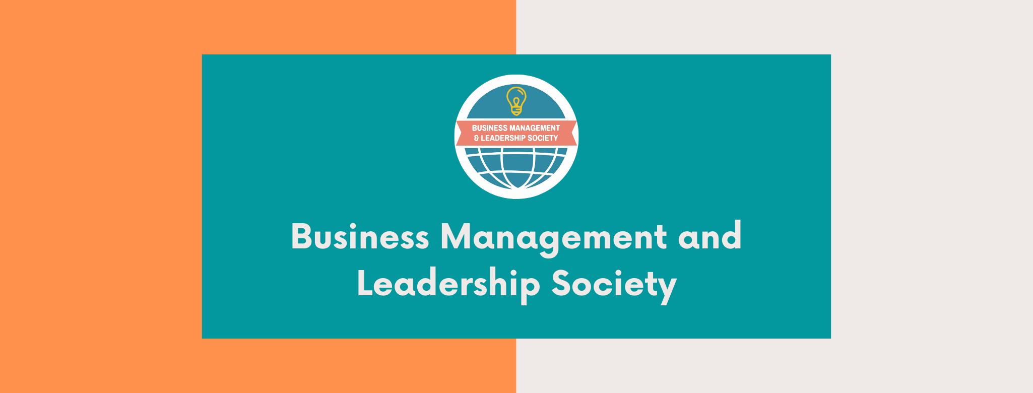 Business Management and Leadership Society thumbnail